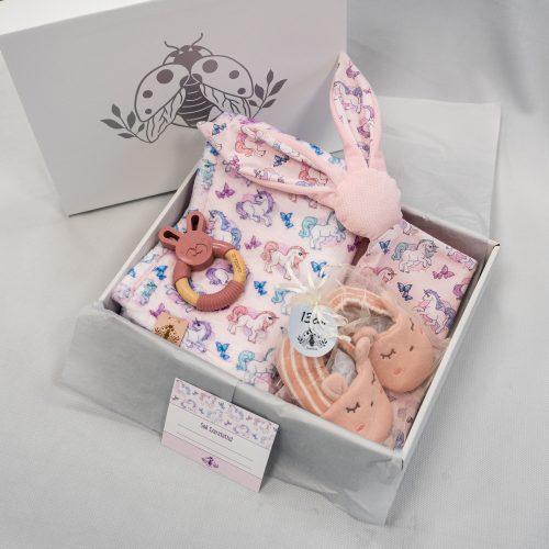 Rózsaszín nyuszi ajándékcsomag