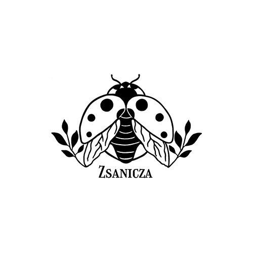 Fekete takaró (névvel hímezve)